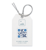 Creative QR Code ideas on labels and stickers